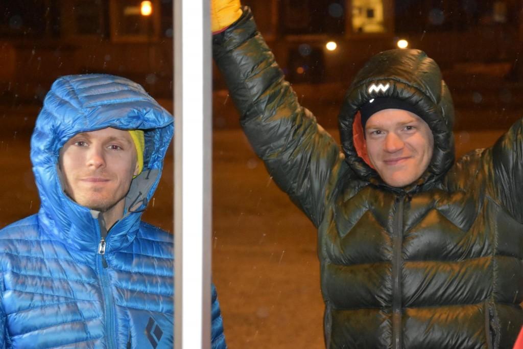 Lars Starrin och Andreas Ribbefjord.