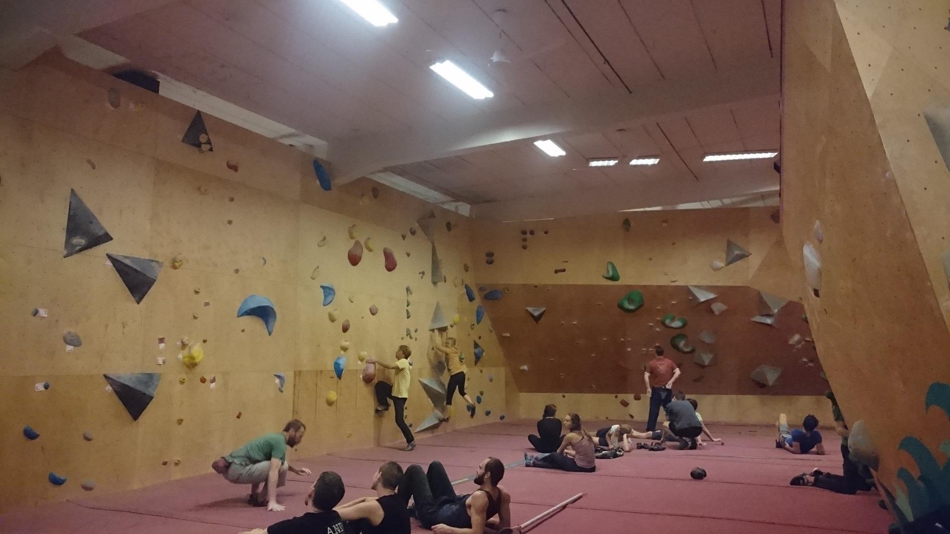 Boulderklub Kreuzberg i Berlin.