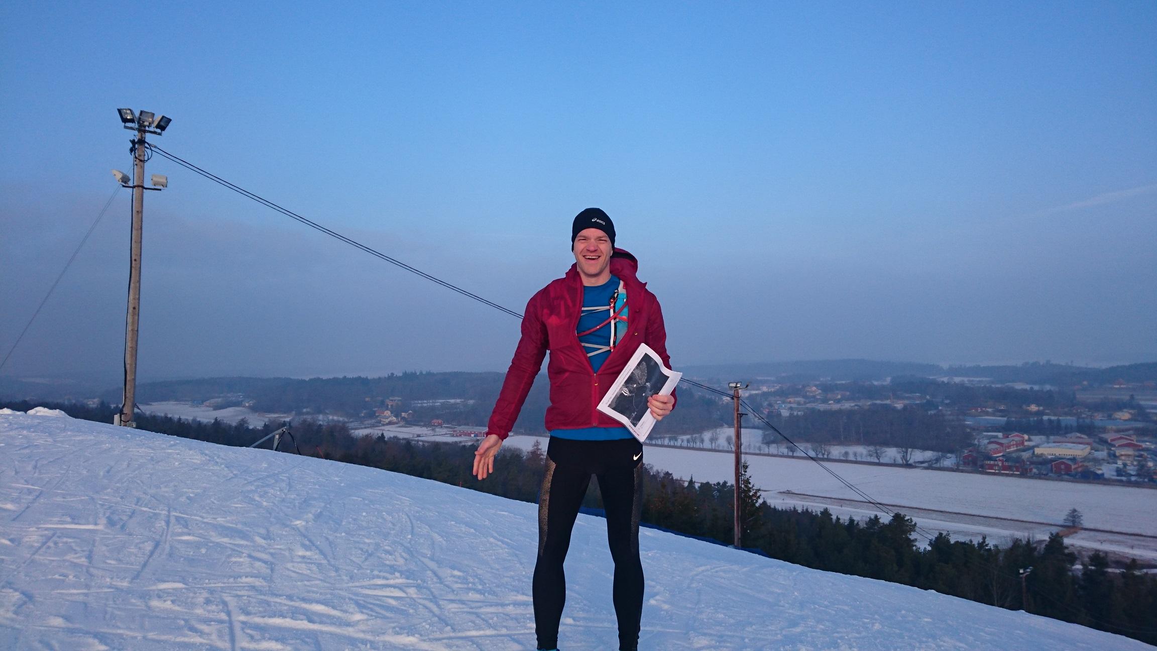 Jag gav mig på banrekordet på Urban 7 Summits. Dvs springa på tid mellan Ssju toppar i Stockholm. Det var väl typ 70 km eller något. Föll dock på navigeringen den sista biten. Jag var iofs trött också. Men det går att ta nästa år.