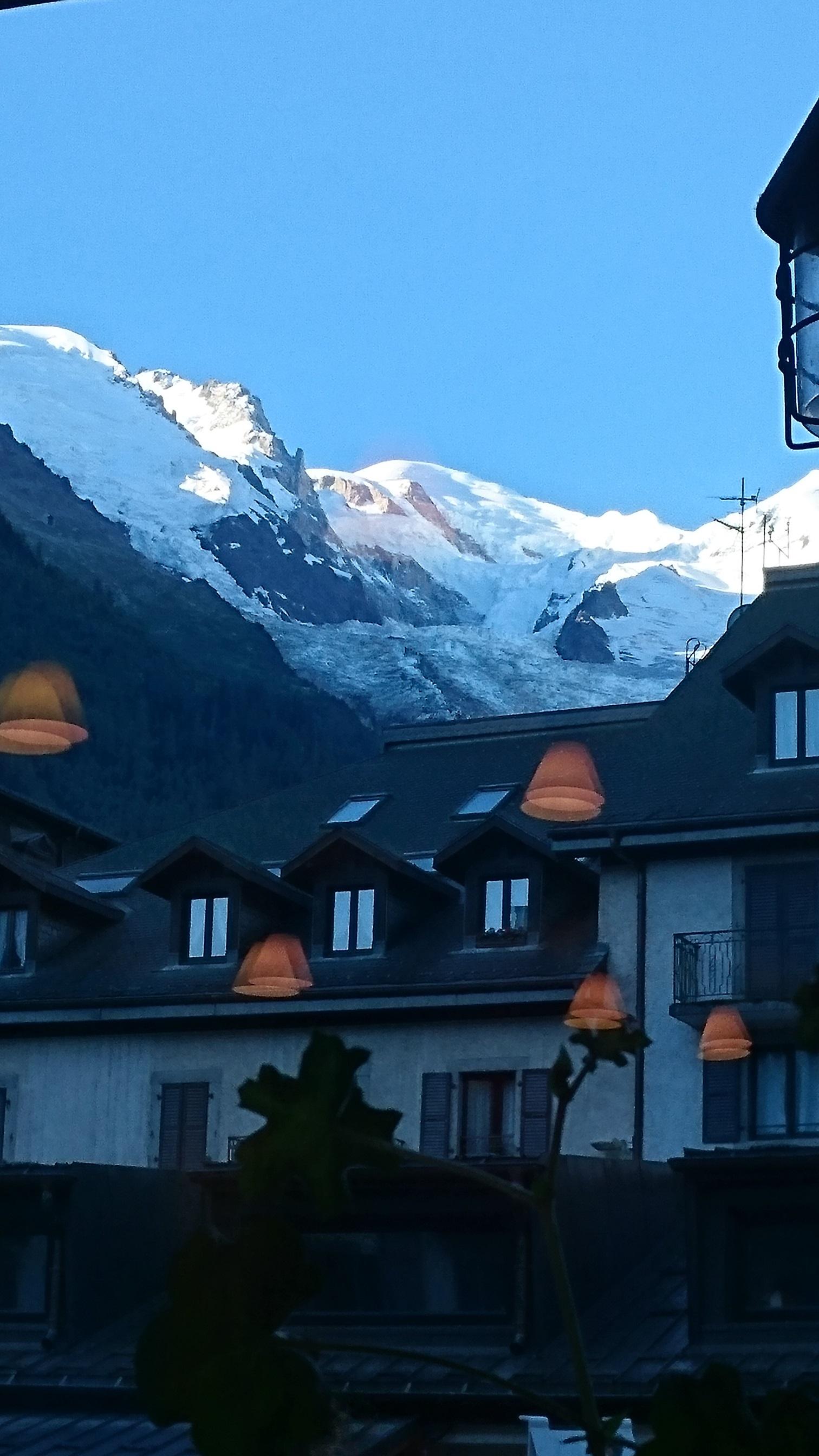 Chamonix Mont Blanc. Aaah.