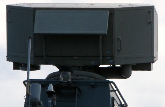 Sea GIRAFFE på ett polskt, militärt fartyg. Källa: Wikipedia.