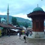 Gamla delen av Sarajevo, Bosnien Herzegovina.