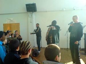 Panetoz uppträder med FP Haninge 2010.