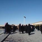 Imam Khomeini-torget i Esfahan, Iran.
