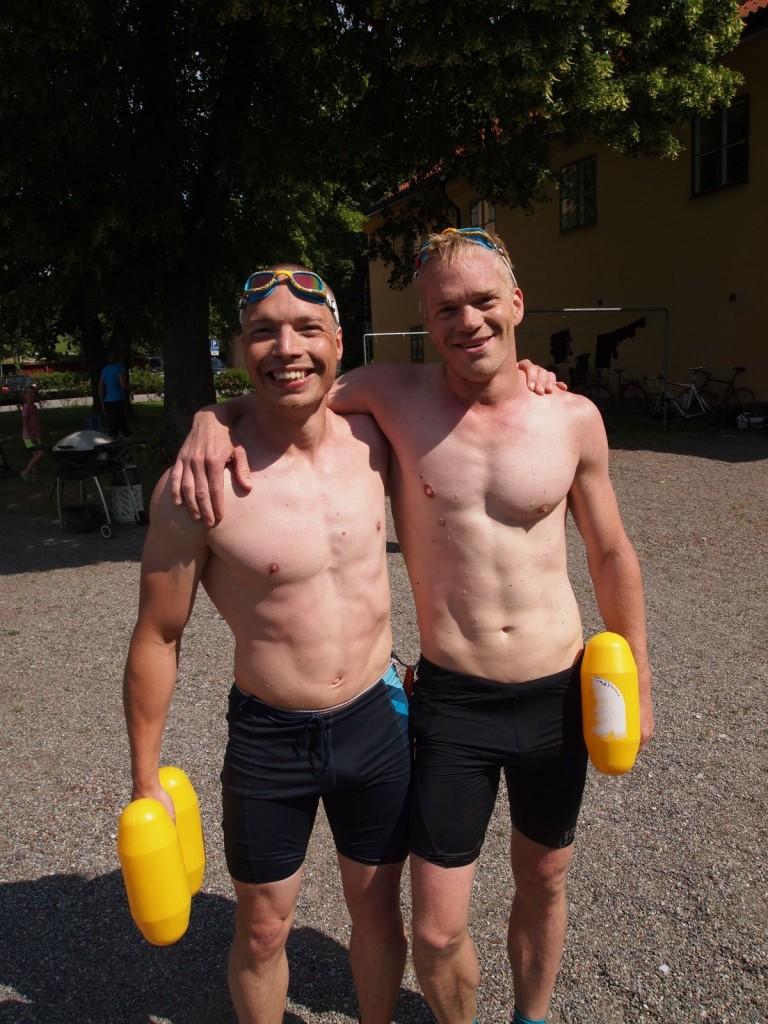 Andreas Ribbefjord och Tomas Granberg