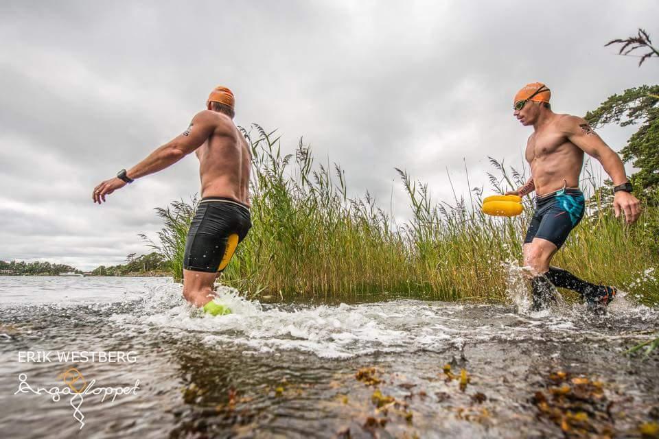 """Mikael """"Torpeden"""" Rodemar och Tomas """"Maskinen"""" Granberg kör Ångaloppet 20165."""