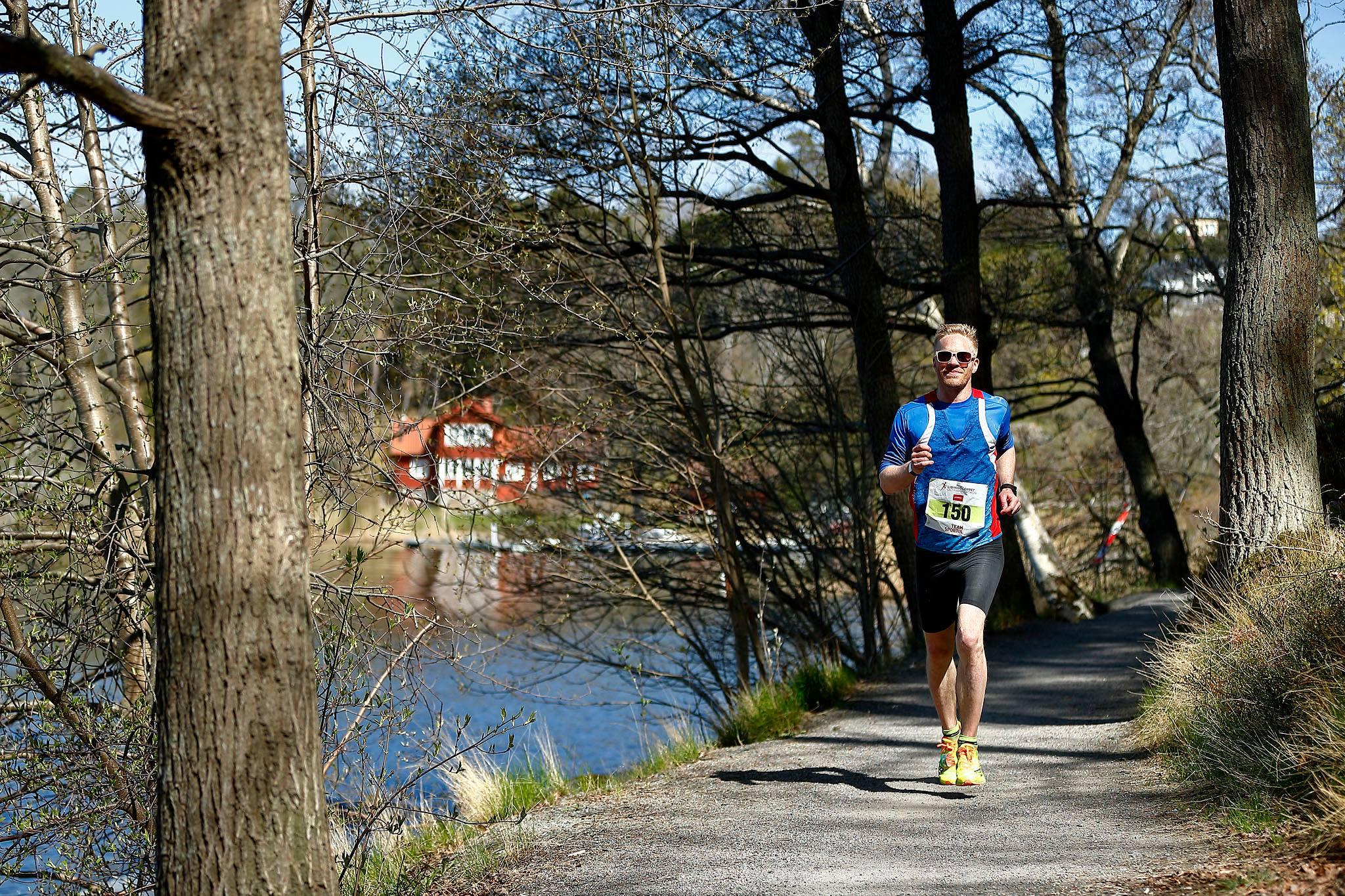 Lidingöloppet Ultra Marathon den 7 maj 2017 på Lidingö. Foto: Peter Holgersson AB.